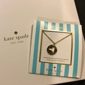 NWT Kate spade New York Cory charm necklace